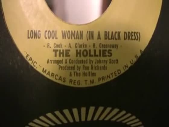 The Hollies Oldies Music Lyrics Long Cool Woman In A Black Dress